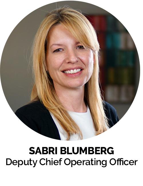 Sabri Blumberg Deputy Chief Operating Officer MGE